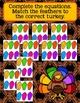 Build-a-Turkey: Complete the Missing Equation Part Math Game
