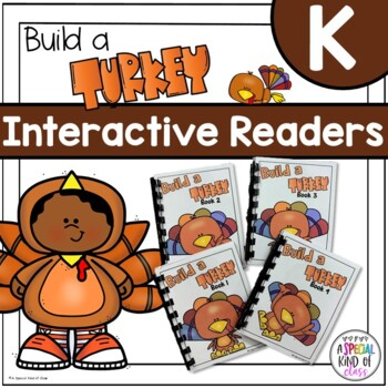 Build a Turkey Interactive Easy Readers