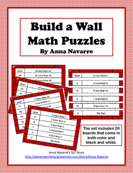 Build a Wall Math Puzzle