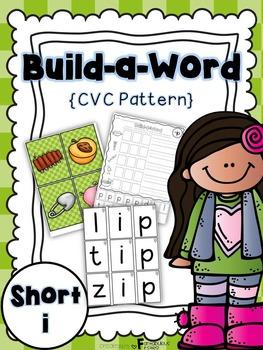 Short i CVC Build a Word