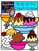 Build an Ice Cream Sundae {Creative Clips Digital Clipart}
