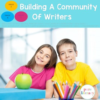 Building A Community of Writers 3-6: Procedural Writing Wo
