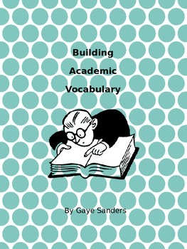 Building Academic Vocabulary Week Two