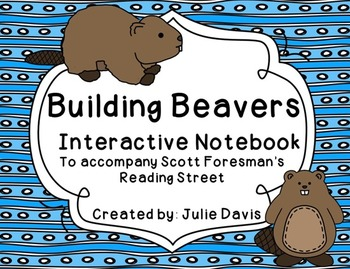 Building Beavers Interactive Notebook Journal