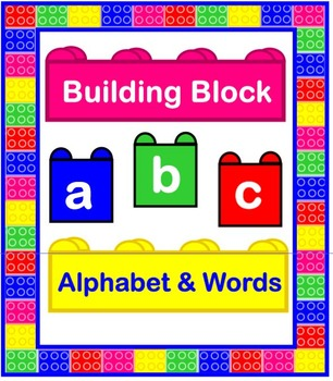 Building Block Alphabet & Words