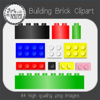 Building Block (Brick) Clipart