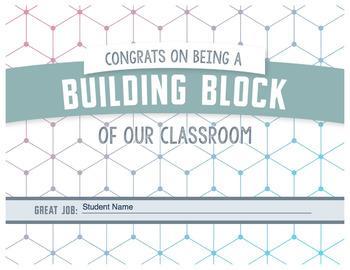 Building Blocks Certificate - Congratulations
