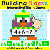 Winter Activities - Addition and Subtraction Building Bloc
