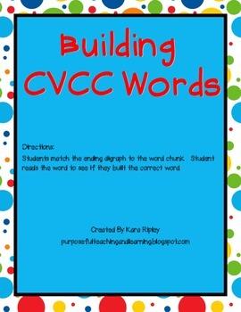 Building CVCC Words