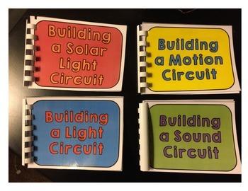 STEM Building Circuits Mini Instruction Books