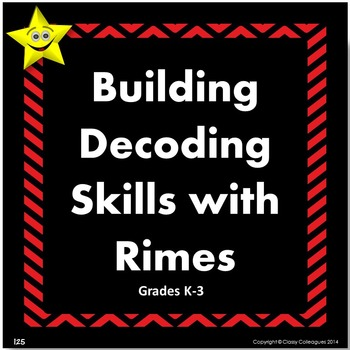 Decoding with Rimes, Word Cards
