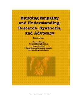 Building Empathy and Understanding: Research, Synthesis, a