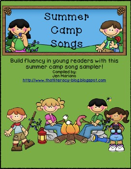 Building Fluency with Summer Camp Songs