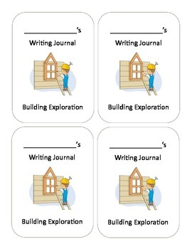 Building Journal Cover