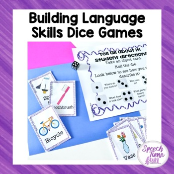 Building Language Skills Dice Games
