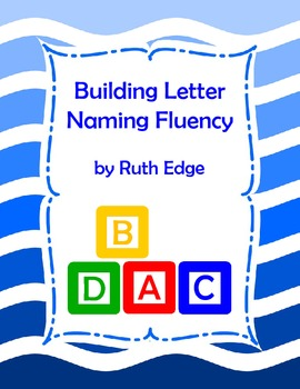 Building Letter Naming Fluency