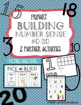 Building Number Sense {Primary Partner Activities}