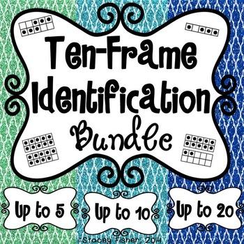 Ten-Frame Identification BUNDLE-Build Number Sense with Nu