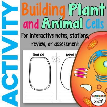 Building Plant and Animal Cells Activity for Middle and Hi