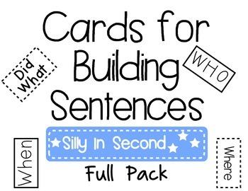 Building Sentences Full Pack