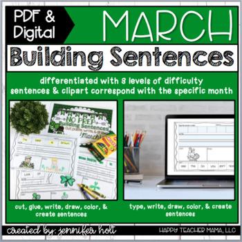 Building Sentences {March Edition}