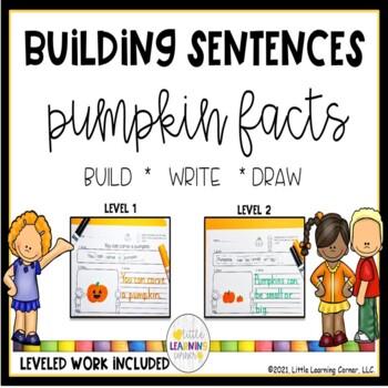 Building Sentences ~ Pumpkins