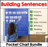 Building Sentences at the Pocket Chart ~ Bundled for Savings!