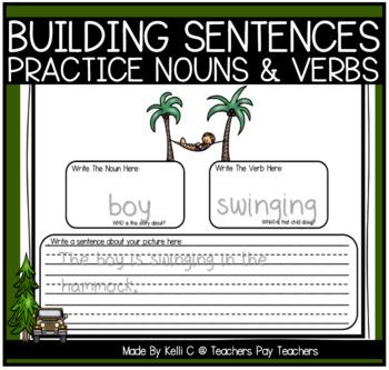 Building Simple Sentences- Nouns and Verbs