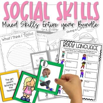 Social Skills Activity Unit