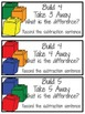 Building Subtraction {Math Small Groups}