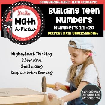 Building Teen Numbers: Worksheets & Games