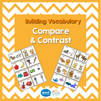 Building Vocabulary - Compare and Contrast