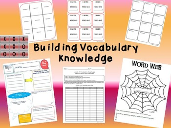 Building Vocabulary Knowledge