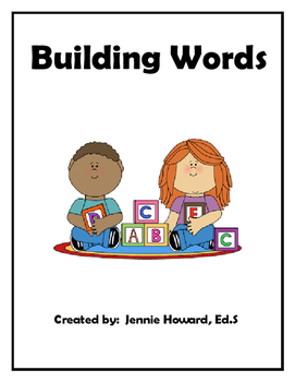 Building Words (CVC Words)