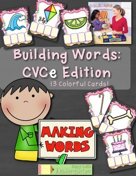 Building Words: CVCe Edition - Interactive and FUN Word Wo