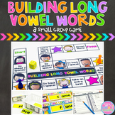 Building Words {Long Vowel Word Families Small Group Game
