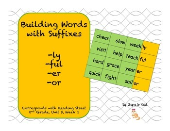 Building Words with Suffixes