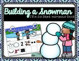 Building a Snowman {Fill in the Blank} Interactive Story