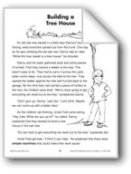 Building a Treehouse (Physical Science/Simple Machines)