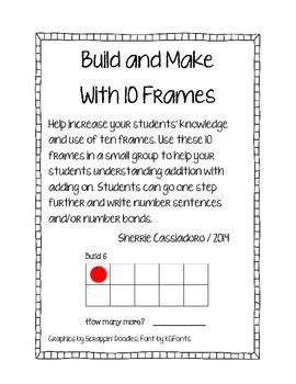 Building to Ten with Ten Frames