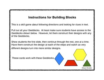 Building with Geoblocks #1