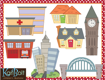 Buildings Clip-Art