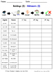 Buildings and Structures in French Spelling Worksheets