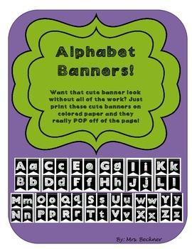 Bulletin Board Banners!