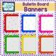 Bulletin Board Banners / Clasroom display titles {EDITABLE