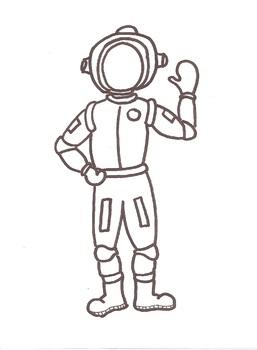 Bulletin Board Buddies - Astronaut Suit