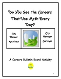 Bulletin Board: Careers & Math