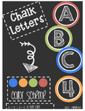 Bulletin Board Chalk Letters