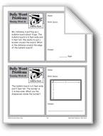 Bulletin Board (Grade 4 Daily Word Problems-Week 16)