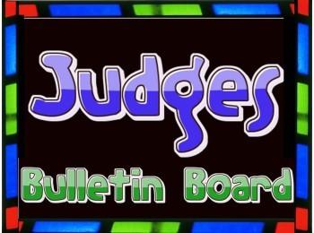 Bulletin Board: Judges (Bible based)